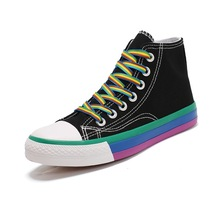Womens Ladies Allstars Classic Authentic ChuckTaylor Ox Low High Top Casual Canvas Fashion Sneakers Athletic Shoes