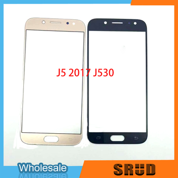 50pcs Replacement Touch Glass For Samsung Galaxy J5 2015 2016 2017 J500 J510 J530 Front Outer Glass With Laminated OCA