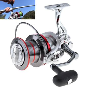 Spinning Fishing Reel Full Metal  9000 Series 14+1 Ball Bearing 20KG / 44LB Long Distance Surfcasting Wheel with Larger Spool