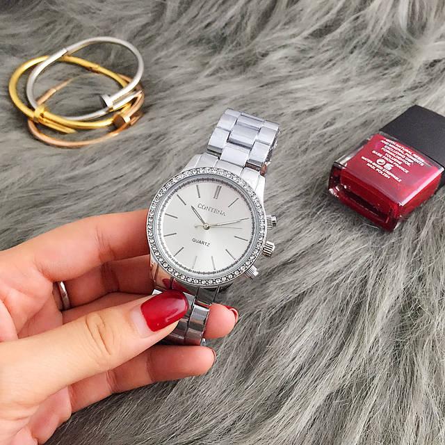 Us8 Uhren Mode Quarz Vogue In Contena Armband Metall 15Off Damenuhren Kleid Edelstahl Luxus Damen Armbanduhren Frauen 2019 Neue Marke Aus 49 Uhr cRj4qSA3L5