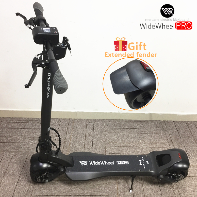 2020 Original Mercane WideWheel PRO Smart <font><b>Electric</b></font> <font><b>Scooter</b></font> 48V 500W 1000W Wide <font><b>Wheel</b></font> Kickscooter Dual <font><b>Motor</b></font> e <font><b>scooter</b></font> Skateboard image