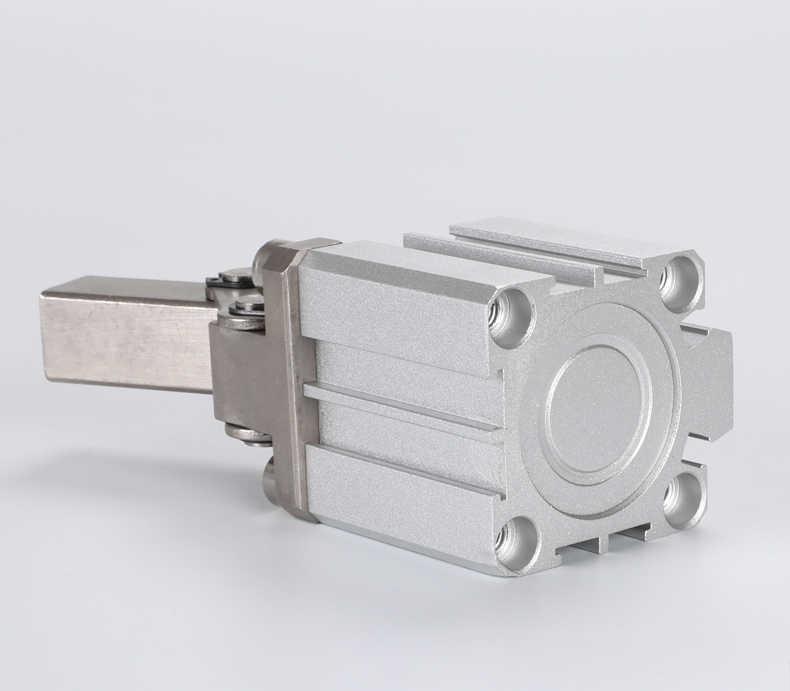 ALC/JGL 25 32 40 50 63 Двойное действие зажимной цилиндр воздушный компрессор пневматический цилиндр, компоненты рычаг вниз цилиндр