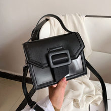 Trend 2021 Transparente Gelee Tasche Platz Handtasche frauen Designer Tasche Schulter Tasche Kleinigkeiten Tasche Flip Kontrast Farbe Leder сумка