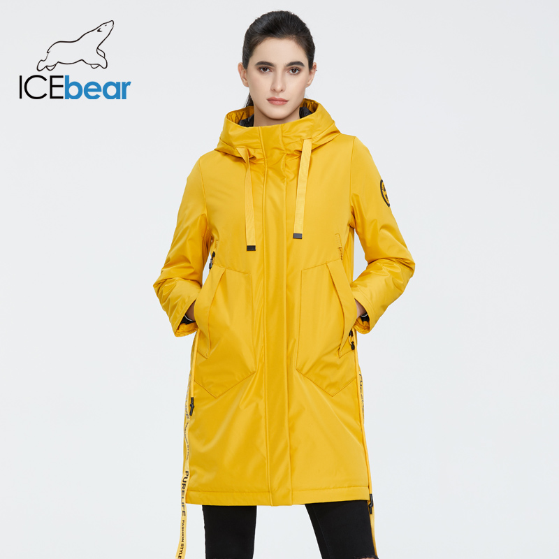 ICEbear 2020 Women spring jacket women coat with a hood casual wear quality coats brand clothing GWC20035I title=