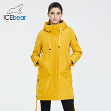 ICEbear 2020 Women spring jacket women coat with a hood casual wear quality coats brand clothing GWC20035I(China)