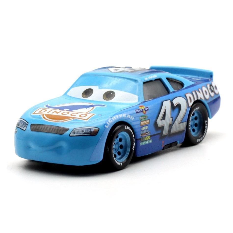 Disney Pixar тачки 3 20 стильные игрушки для детей Молния Маккуин Высокое качество Пластиковые тачки игрушки модели персонажей из мультфильмов рождественские подарки - Цвет: 34
