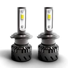 28W 6000Lumen 4300K 6000K changeable H7 H4 H11 9005 car auto led headlight bulb auto headlamp error free canbus 2pcs set h7 55w led 13000lm 6000k car headlight canbus error free bulb 9 32v white auto headlamp conversion kit