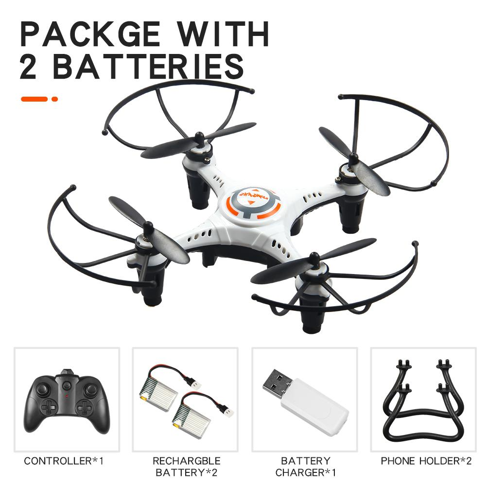cheapest GloryStar JX815-2 Mini 2 4GHz 4 Channel Drone 360     Rolling Quadcopter
