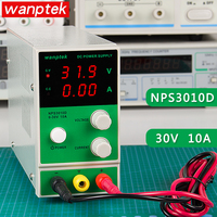 Power Supply Wanptek NPS3010D Mini Adjustable DC Power Supply 0 30V 0 10A Digital Voltage Regulator Laboratory Power Source