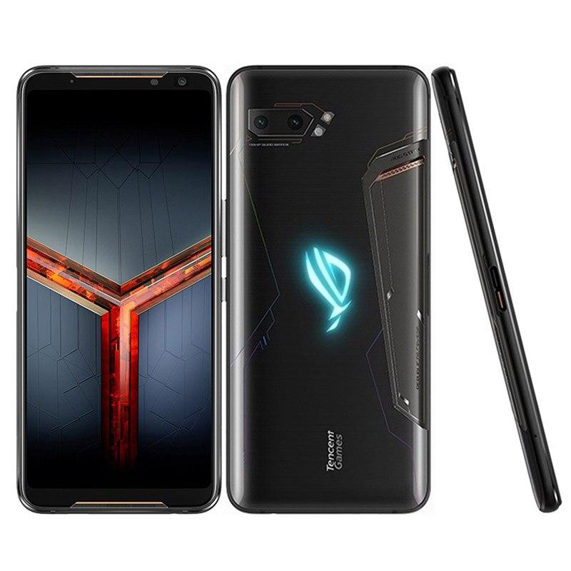 """Tout nouveau téléphone Asus ROG II ZS660KL téléphone portable 12GB RAM 512GB ROM Snapdragon 855 + 6.59 """"NFC Android9.0 téléphone ROG 2 téléphone de jeu"""
