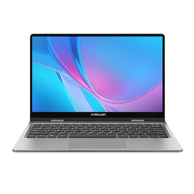 Teclast f5 computador portátil 8gb ddr4 11.6 gb ssd windows 10 do tela táctil de 256 polegadas computador portátil intel n4100 1920x1080 ips 360 ° tipo-c 2