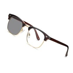 AOFLY Vintage Photochromic Glasses Men Anti-Blue Light Glasses Women Optical Frame Computer Eyewear Prescription Glasses UV400