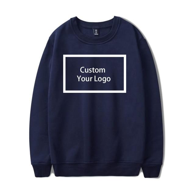 Customized logo Print wholesale Sweatshirts Cotton Hoodies 3
