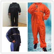Waterproof Windproof Conjoined Raincoats Overalls Electric Motorcycle Fashion Raincoat Men And Women  Rain Suit Rainwear