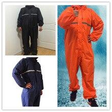 Wodoodporne wiatroszczelne połączone płaszcze przeciwdeszczowe kombinezony motocykl elektryczny moda płaszcz przeciwdeszczowy mężczyźni i kobiety kostium przeciwdeszczowy odzież przeciwdeszczowa