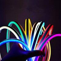 220V flexible neon Licht LED Streifen Im Freien wasserdichte flex band aquarium tira undurchlässig Weihnachten wohnzimmer dekoration Lampe
