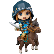 10CM Anime The Legend of Zelda Link Figure PVC Action Figure Collectible Model Toys Gift Doll 2017 anime legend of zelda link with skyward sword figma 153 pvc action figure collection model kids toy doll brinquedos