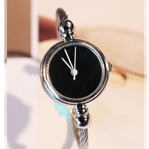 Image 5 - Luxury Women Watch Bracelet Simple Fashion Female Clock Simple Quartz Wrist Watch Women relogio feminino reloj mujer 2019