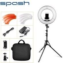Spash Ring Lamp 14 Inch Met Statief Ring Licht Dimbare 5500K Led Ringlicht Voor Studio Ring Van Licht Makeup youtube Led Verlichting