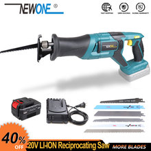 Reciprocating Saw Saber-Saw Cordless Saw-Blades Rechargeable Wood/metal 20V Li-Ion