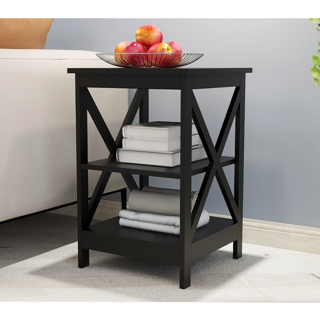 Wooden Square Sofa Side Table 1