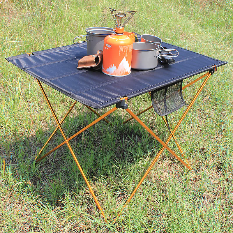 Portable Foldable Folding Table Desk Camping Outdoor Picnic 6061 Aluminium Alloy Ultra-light Table