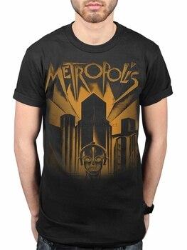 New Fashion Stylel Plan 9 Metropolis New Film Poster Unisex T-Shirt Merch 1927 German Film Short Sleeve Crew Neck Fashion