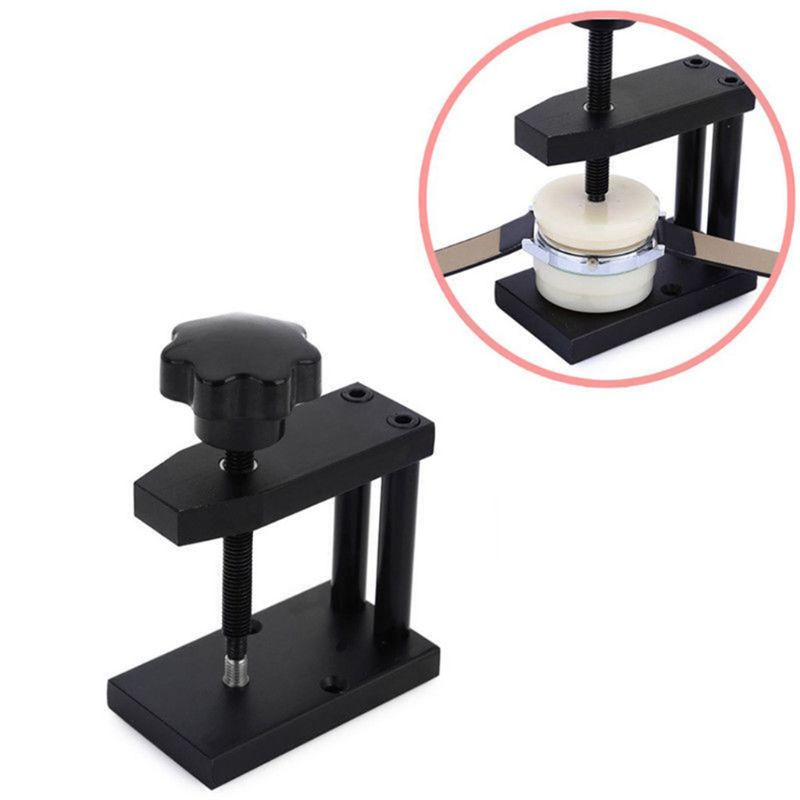 relógios capa traseira máquinas imprensa inferior presser relógio reparação acessórios