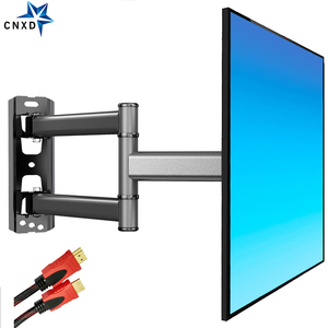 2020 New TV Wall Mount Bracket Flat Panel TV Frame Support 40kg 90 Degrees Swivel for 26-50 Inch LCD TV with Free HDMI Cable(China)