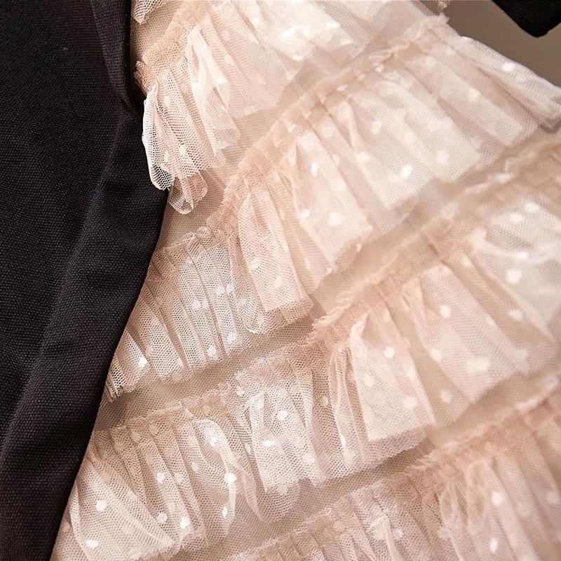 Size Fashion Dresses Sleeve