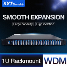 Монтажная стойка mux demux dual fiber 8 Каналов cwdm 1470 1610