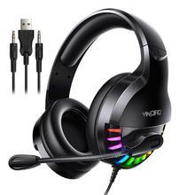 Profesjonalne słuchawki dla graczy słuchawki przewodowe słuchawki dla graczy dźwięk radia zestawy słuchawkowe z mikrofonem LED Light dla komputera komputer dla graczy cheap centechia Dynamiczny CN (pochodzenie) Przewodowy -42±3dB Brak 2 13m Do Internetu Bar Do Gier Wideo Wspólna Słuchawkowe
