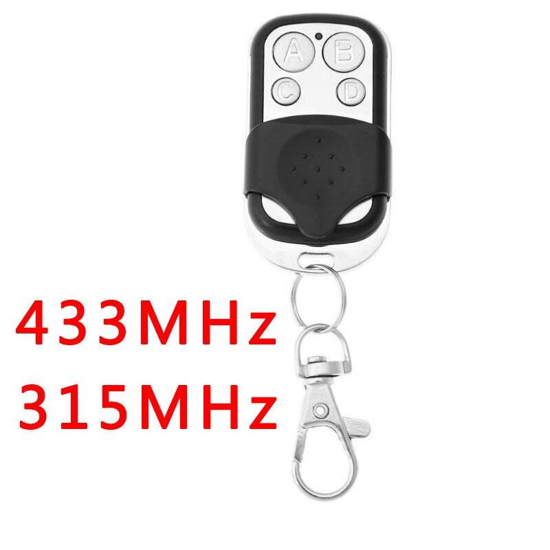 4 Channel Wireless Remote Control Duplicator Electric Gate Garage Key Fob