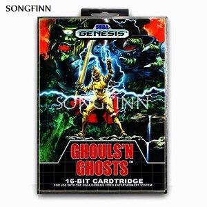 Image 1 - 16 bit MD Memory Card With Box for Sega Mega Drive for Genesis Megadrive   Ghouls N Ghosts