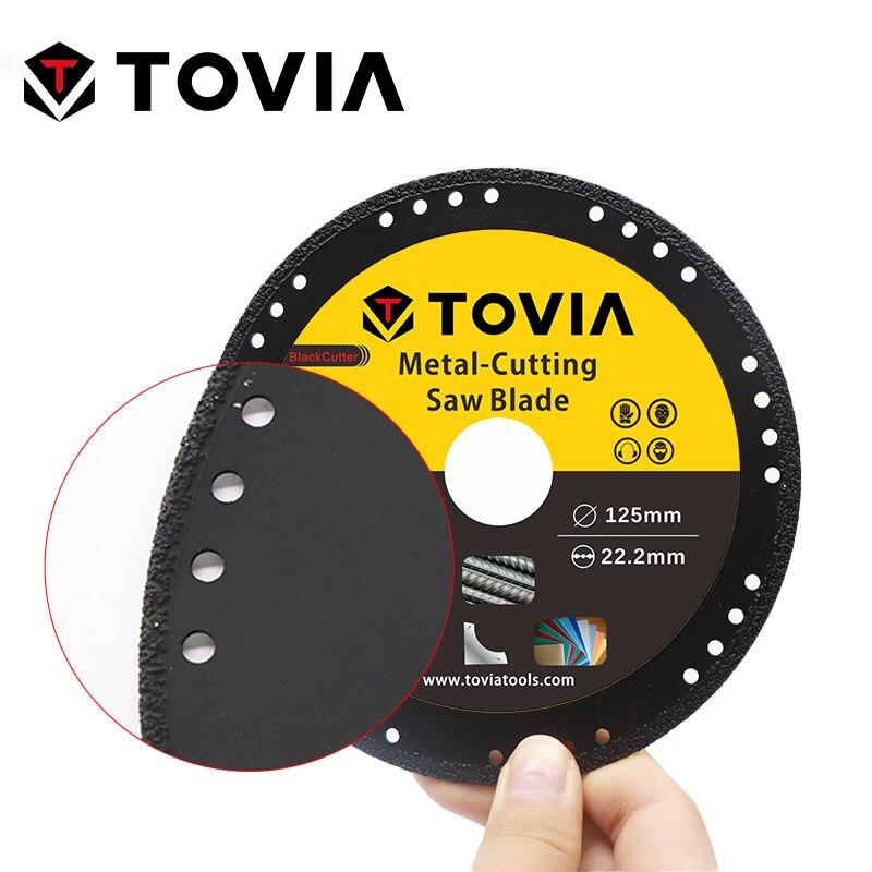 Image 3 - TOVIA 125mm Diamond Circular Saw Blade Cutting Steel Stainless Steel Aluminum Cutting Disc For Metal Saw Blade 115mm Saw Disc-in Saw Blades from Tools