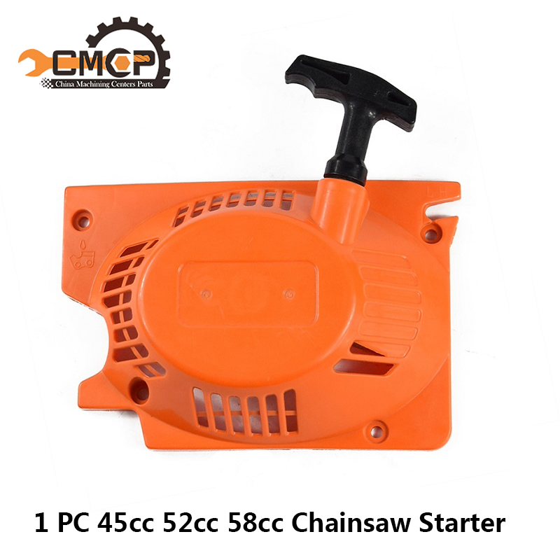 1pc Chainsaw Starter Fit Stihl 45cc 52cc 58cc Chainsaw Spare Parts Pull Recoil Starter