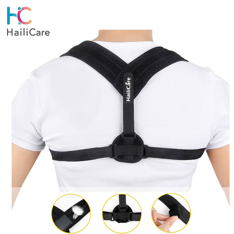 Upper Back Posture Corrector Adjustable Clavicle Brace Correct Shoulder Posture Support Strap Clavicle Correction Belt Drop Ship