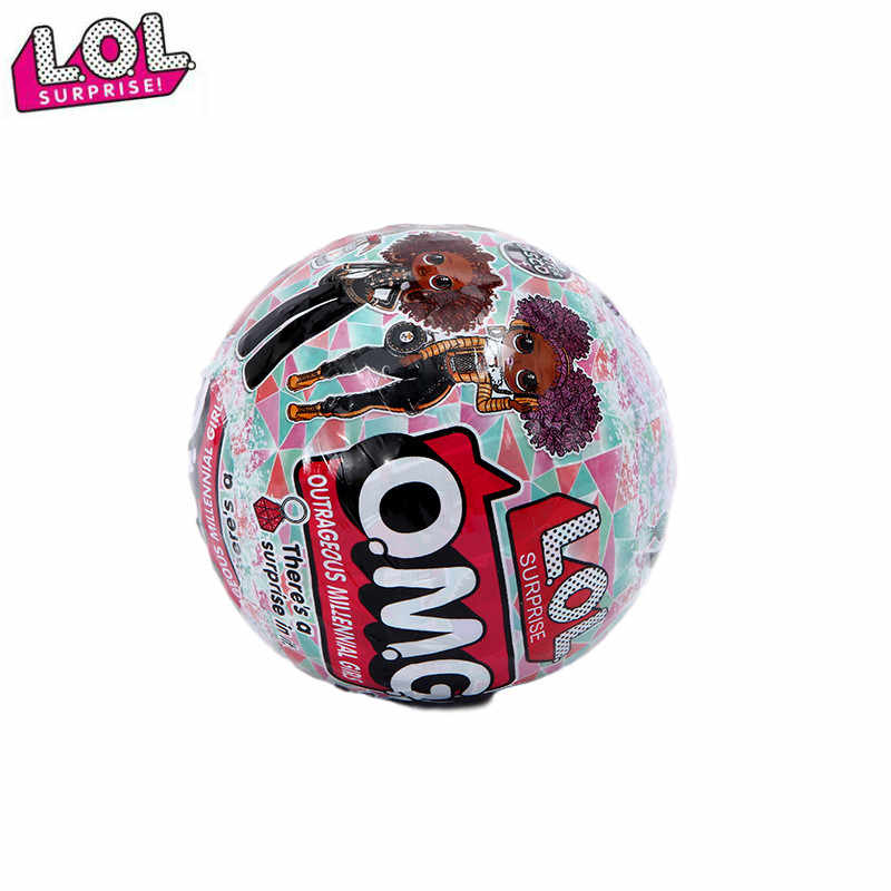 New Lol Surprise Doll Omg Apple Ball Doll Blind Box Diy Educational Toy Lol Dolls Toys For Children Kids Toys For Girls Aliexpress