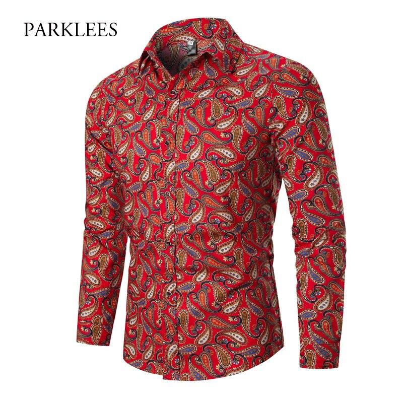 Vintage Paisley Shirt