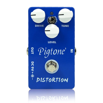 Pigtone PP-04 distortion Guitar effect pedal acoustic electric guitar accessories effects pedals Real bypas diy mod lovepedal dragon fuzz pedal electric guitar stomp box effects amplifier amp acoustic bass accessories effectors