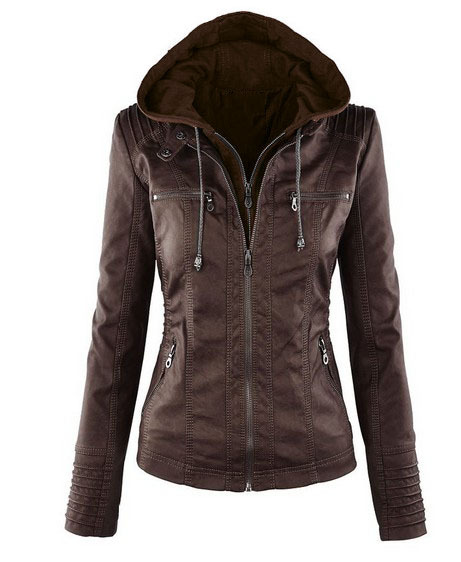 Winter Faux Leather Jacket Women Casual Basic Coats Plus Ladies Basic Jackets European size Winter Faux Leather Jacket Women Casual Basic Coats Plus Ladies Basic Jackets European size