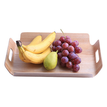 Japanese High quality Wooden Home food Fruits Tray Goods Storage Serving Plate Snack Dessert Containers Trays Box Dish