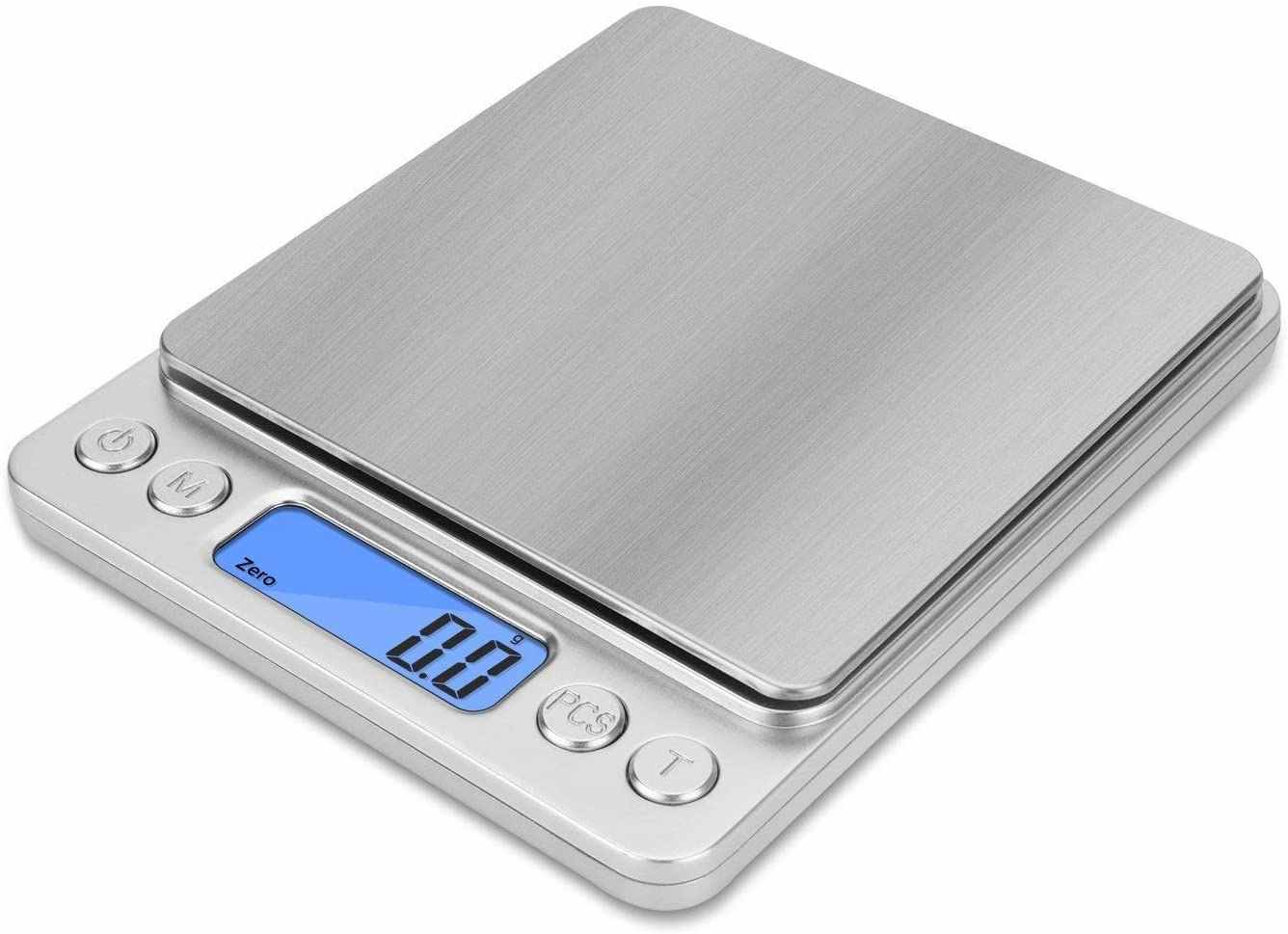 Новые Прецизионные цифровые весы с ЖК-дисплеем, 53 кг, мини электронные граммы, весовые весы для чайной выпечки, весовые весы для дома