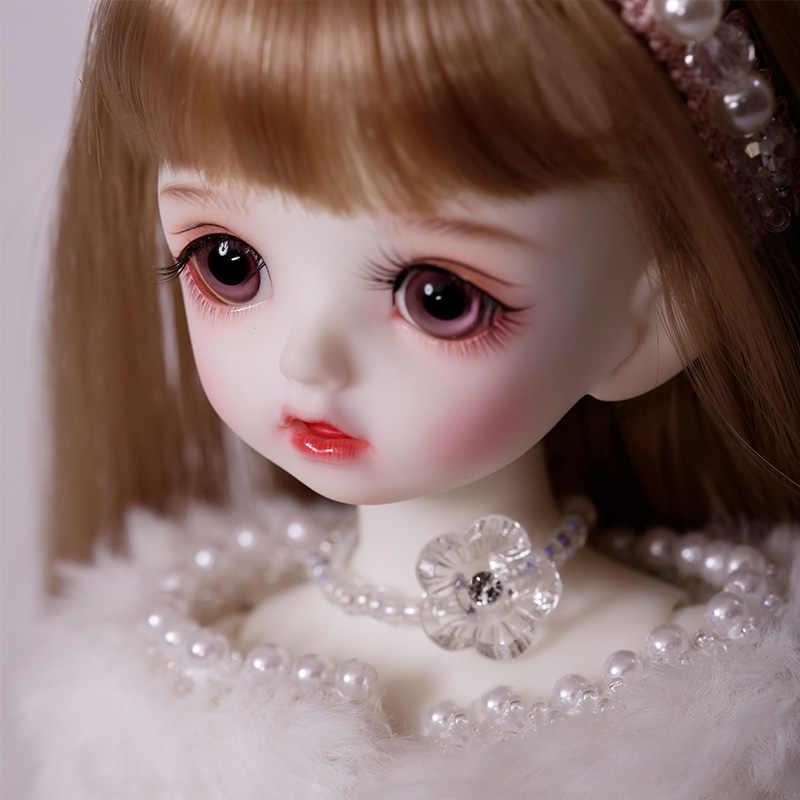 Muñeca BJD Karou 1/6 modelo de cuerpo para niños y niñas Oueneifs, juguetes de resina de alta calidad, bolas de ojos gratis, tienda de moda, muñeca articulada
