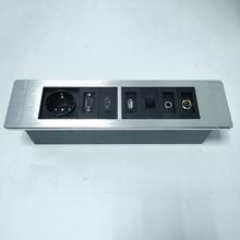 Настенная розетка/Информационный ящик высококачественный алюминиевый