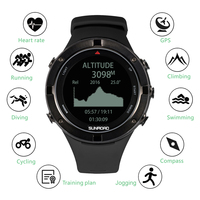 Outdoor Watch With GPS Heart Rate Triathlon Sports Watch Altimeter Barometer Watch For Outdoor Sport Gym Fitness Equipment
