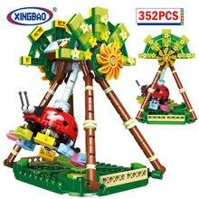 XINGBAO City Amusement Park Large Pendulum sets Model Building Blocks Friend MOC Bricks Educational Toys For Children Gifts