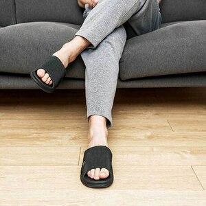 Image 5 - Eine Wolke Hause Hausschuhe Sommer Hausschuhe Weichen Flip Flops Damen Mann Sandalen Casual Schuhe Slip