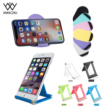 XMXCZKJ Multi-angle Adjust Portable Phone Lazy Holder Mount Phone Holder Foldable Cellphone Support Stand for iPhone X Tablet стоимость