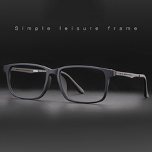 New Arrival Quality Optical Eyeglasses Frame for Men and Women Spectacles Flexible Titanium Temple Legs TR 90 Front Rim Frames